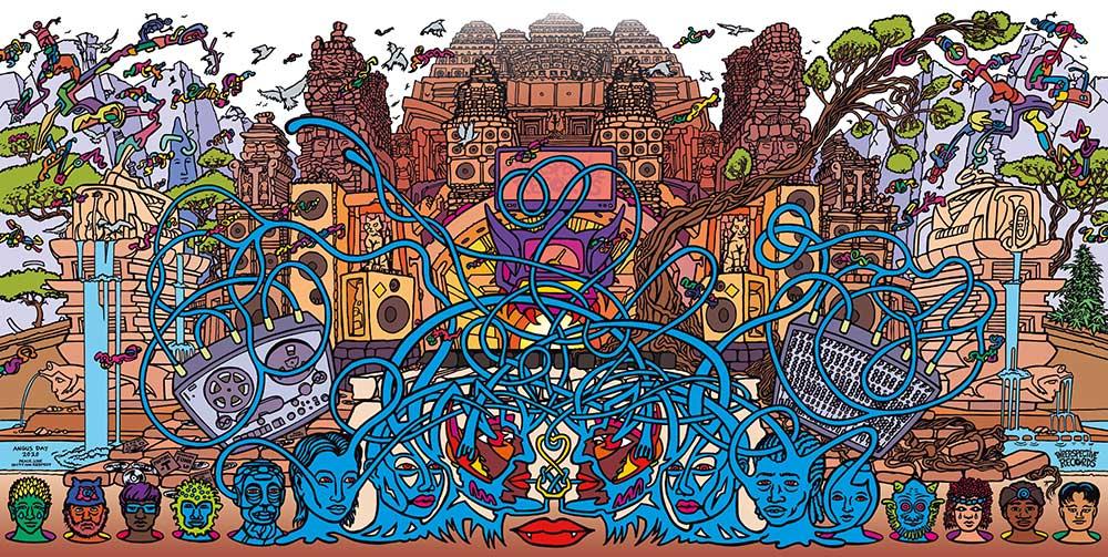 INP030 artwork - inside spread